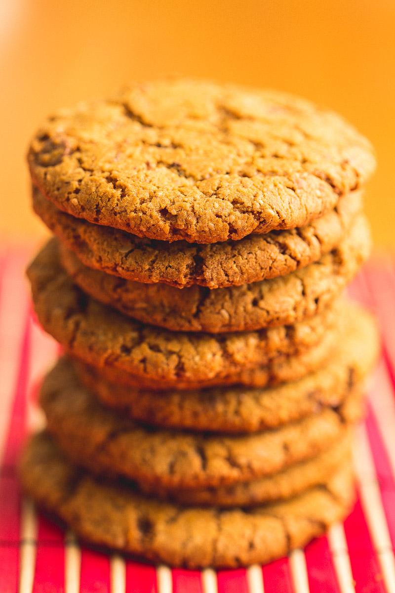 cookies de aveia com gotas de chocolate julia guedes