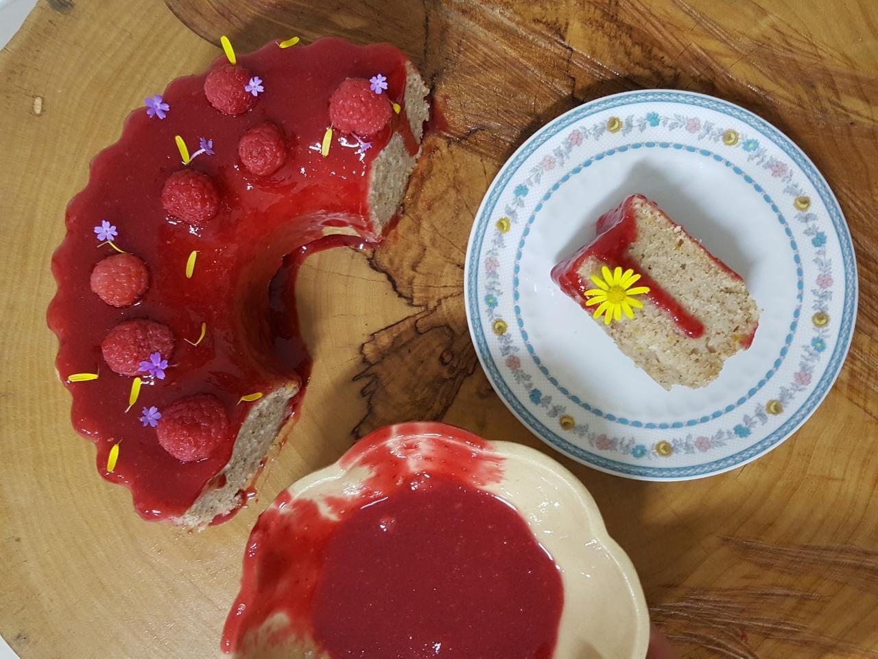 curso bolos caseiros julia guedes curitiba bolo de amêndoa com framboesa